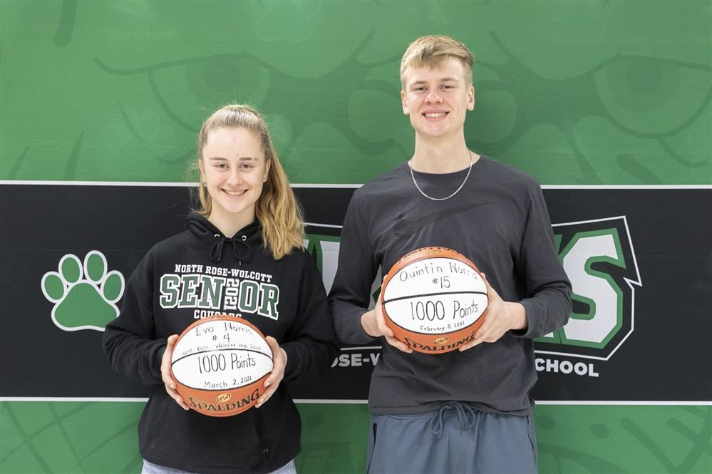 Quintin and Eva Norris Reach 1,000 Career Points