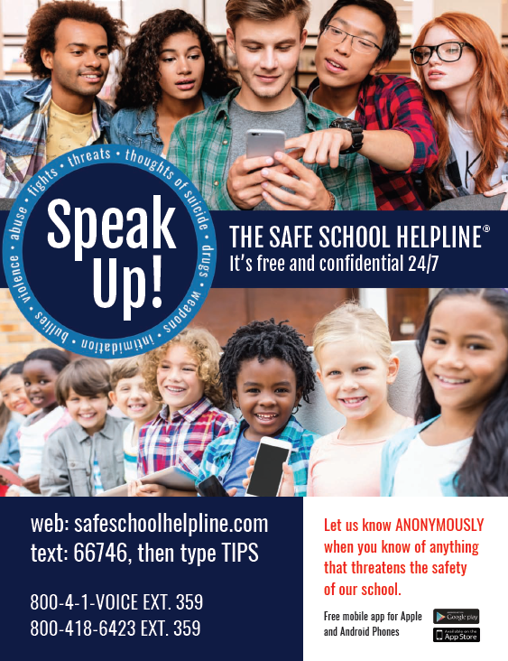 NRW Partners With Safe School Helpline to Enhance School Safety