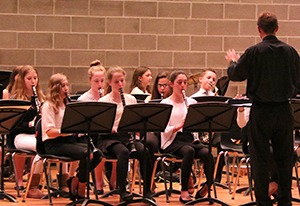 NRW celebrates Music in Our Schools Month with combined concert