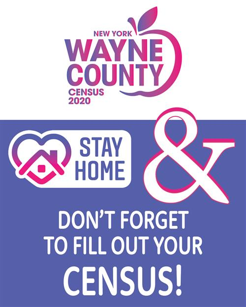Wayne County Census 2020 Stay Home & Stay Safe